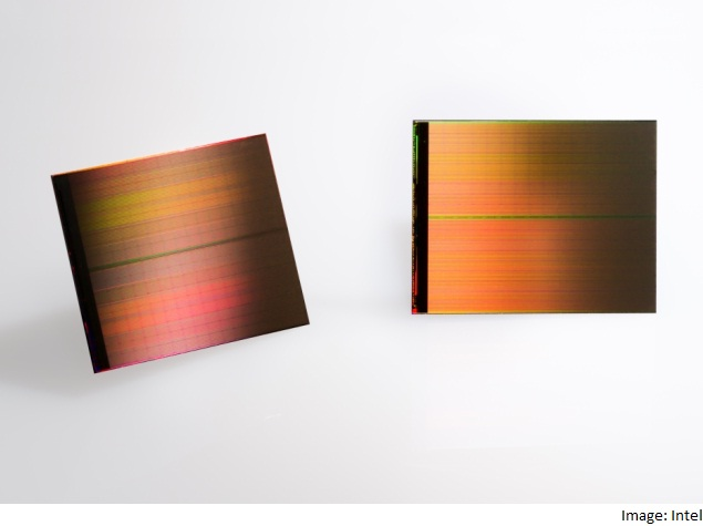 Intel, Micron Announce Memory Chip Breakthrough With 3D Xpoint