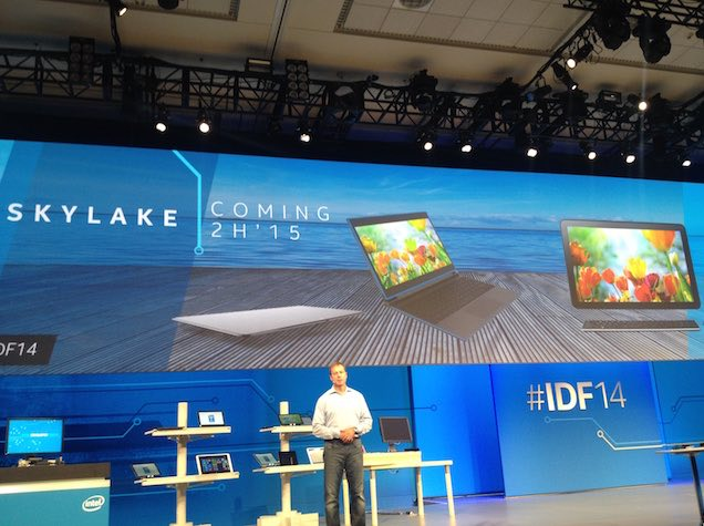 Intel Demonstrates Broadwell Successor 'Skylake' at IDF 2014