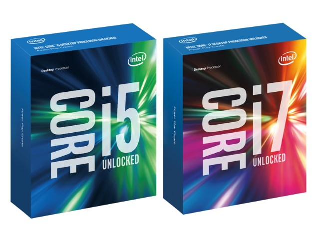Intel Launches Overclockable 'Skylake' Core i7-6700K, Core i5-6600K Desktop CPUs