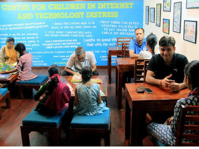 Delhi's First Internet De-Addiction Centre Helps Treat Child Addicts