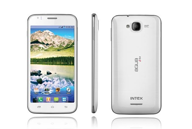 Intex Aqua i4+ with Android 4.2, 5-inch IPS display launched at Rs. 7,600