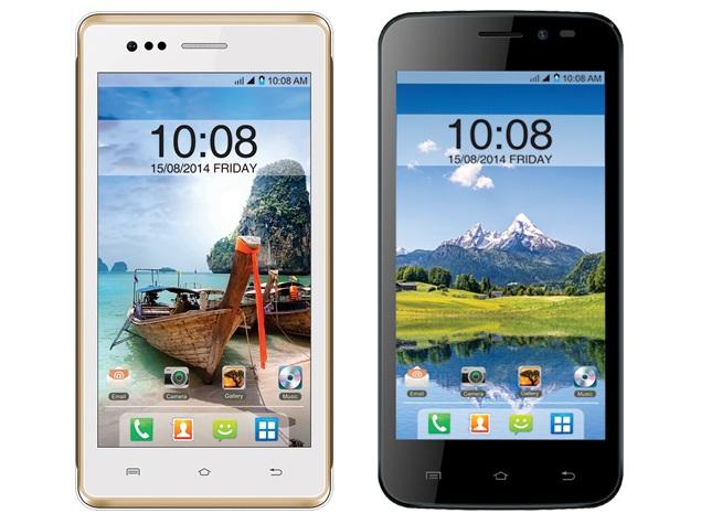 Intex Aqua 4.5E and Aqua Q1 With Android 4.4.2 KitKat Launched