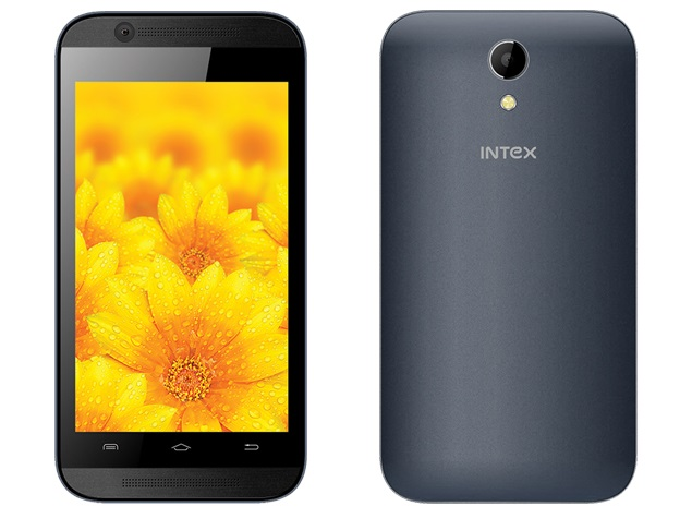Intex Aqua 5X With 3G Support, Android 4.4.2 KitKat Launched at Rs. 3,990