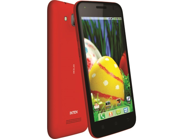 Intex Aqua Curve Mini With Android 4.4 KitKat Launched at Rs. 7,290