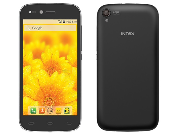 Intex Aqua Slice With Android 4.4.2 KitKat Launched at Rs. 7,990