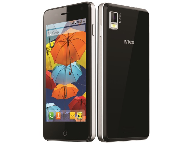 Intex Aqua Style With Android 4.4.2 KitKat Launched at Rs. 5,990