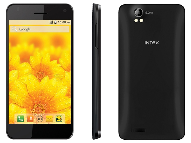 Intex Aqua Style Pro with Android 4.4.2 KitKat Launched at Rs. 6,990