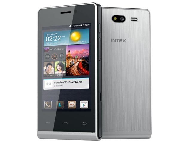 Intex Aqua V4 With Android 4.4.2 KitKat Available Online at Rs. 2,699