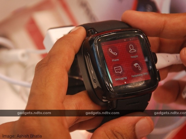 Intex Unveils Android 4.4 Running iRist Smartwatch With Built-in 3G, Wi-Fi, and GPS