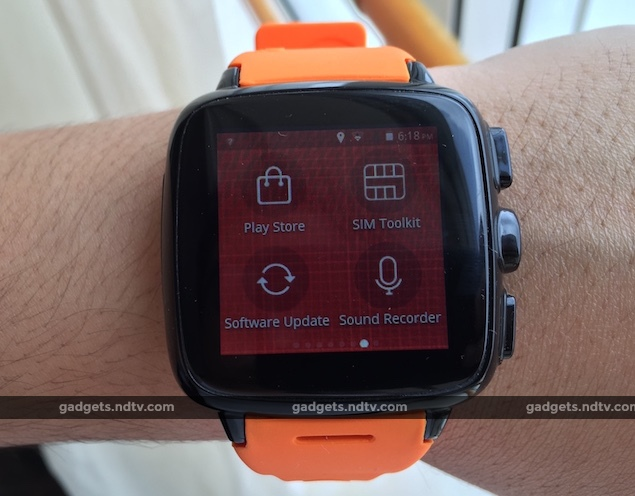 Intex iRist Smartwatch With 3G Support Now Available at Rs. 11,999