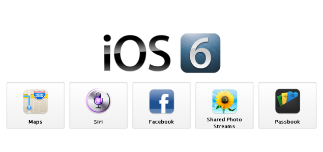 10 new features in Apple's new iOS 6