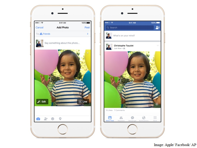 Facebook for iOS to Add Support for Apple's Live Photos