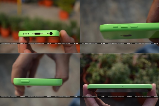 iPhone 5c hardware and ports