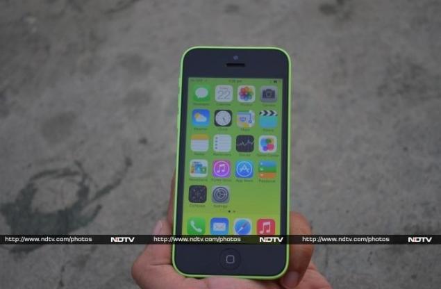 iPhone 5c display