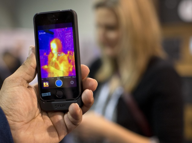 The $349 FLIR One case turns your iPhone into a thermal camera