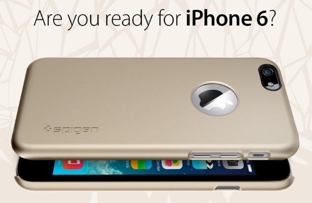 iPhone 6 Case Renders by Spigen Tip Design Ahead of September Launch
