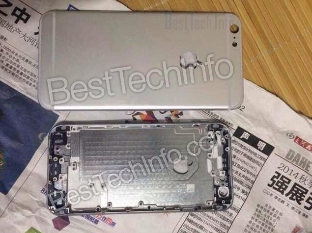Alleged iPhone 6L and iPhone 6 Rear Panels Compared; 128GB Model Tipped Again