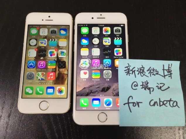 iPhone 6 With Working Display Spotted in Images and Videos: Reports