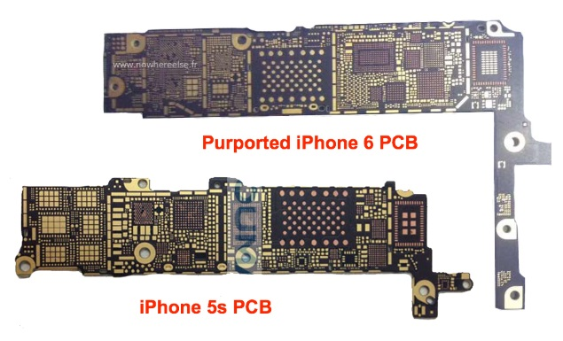 iPhone 6 Logic Board Images Leaked; 802.11ac, NFC Support Tipped