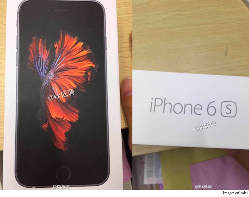 iPhone 6s Launch: More Details Leak Ahead of Apple Event