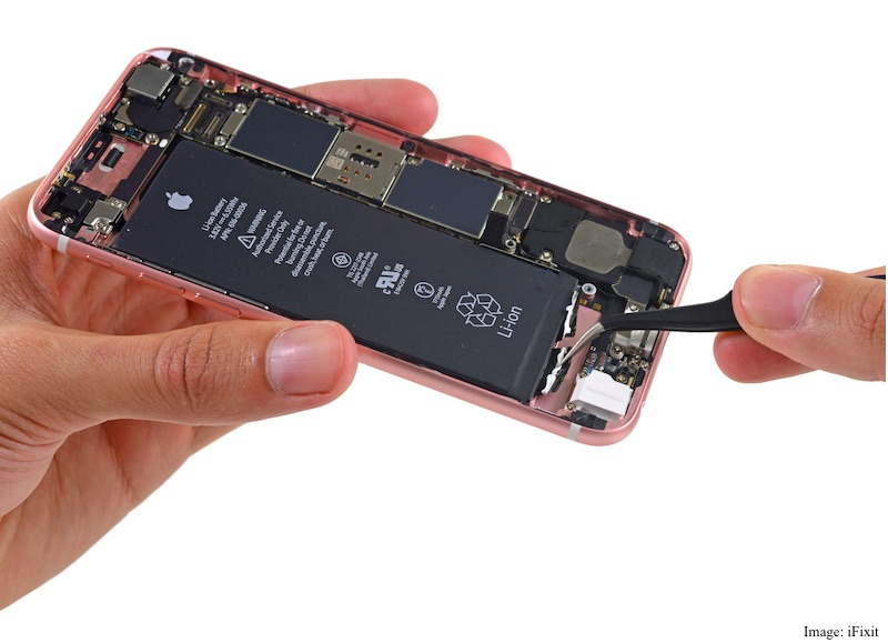 iPhone 6s Teardown Shows Off Smaller Battery and More