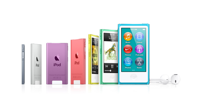 Apple redesigns iPod nano with larger display, pedometer and Bluetooth
