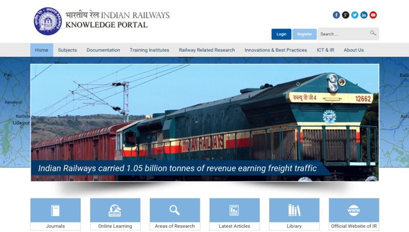 Indian Railways Knowledge Portal Launched
