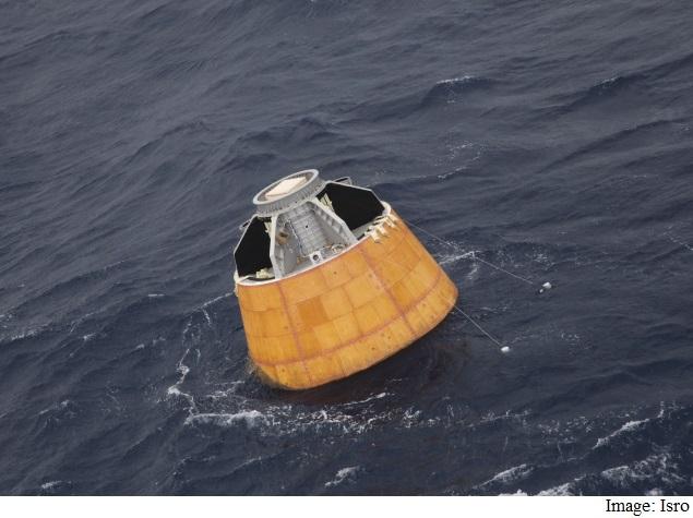 Isro to Study Data in Crew Module's Black Box