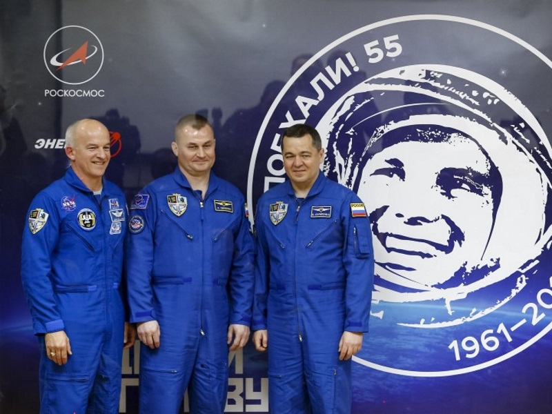 Russian Spacecraft With US Grandpa Onboard Docks at Space Station