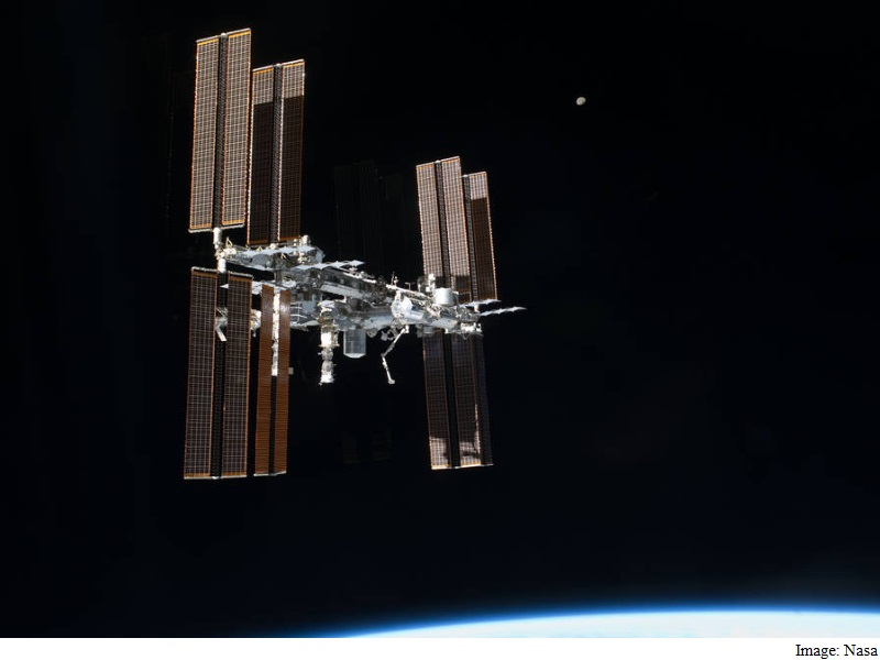 Russian Cargo Spacecraft En-Route to ISS