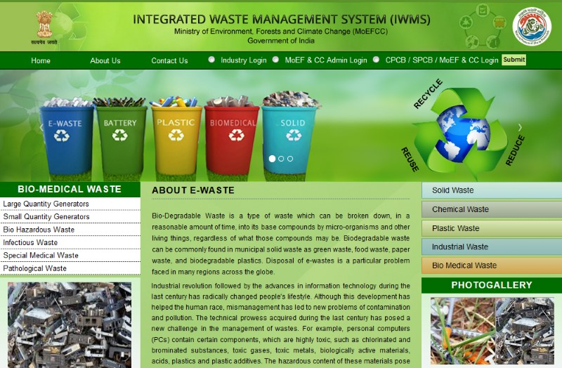 Web-Based Integrated Waste Management System Launched