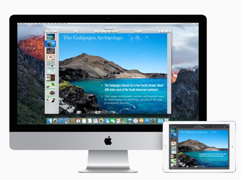 iWork Apps Get Support for New Features on OS X El Capitan, iOS 9