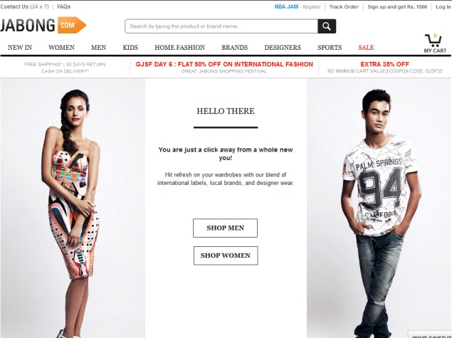 Jabong Sale Likely To Be Finalized In Six Months: Report