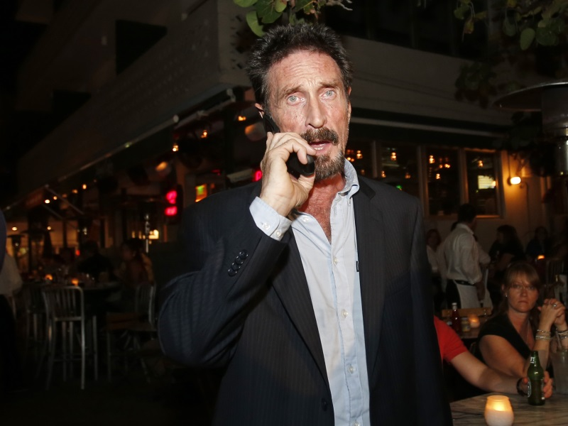 John McAfee, Cyber-Security Pioneer, Says His Twitter Account Was Hacked