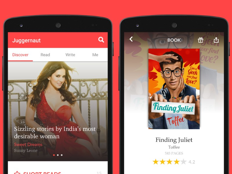 Juggernaut App Is a New Electronic Publishing House, Books Start at Rs. 10
