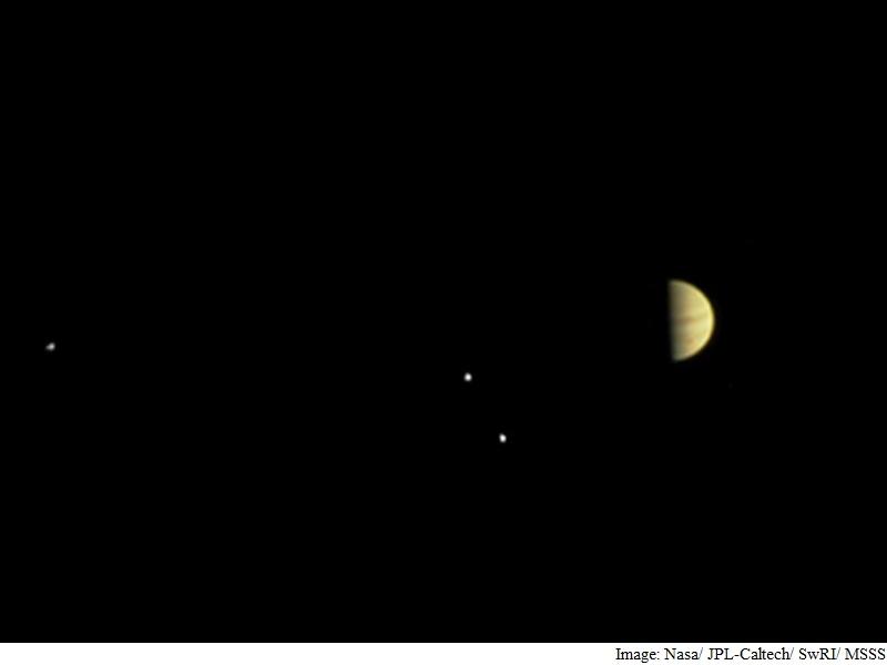 Nasa's Juno Mission Enters Jupiter's Magnetic Field