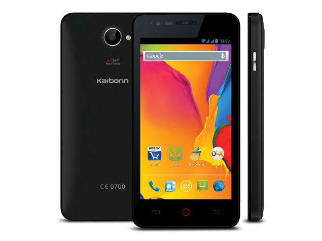 Karbonn Titanium S20 with Android 4.4 KitKat Launched at Rs. 4,999