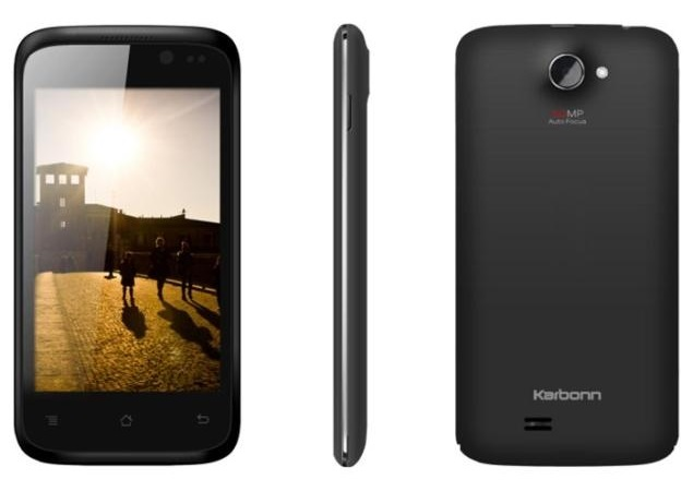 Karbonn A8 with Android 4.2 now available online for Rs. 6,189