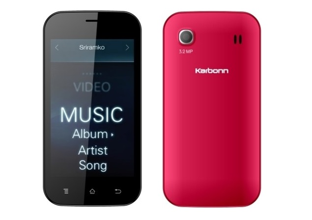 Karbonn A91 with Android 4.2, dual-core processor listed online at Rs. 4,490