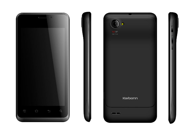 Karbonn Retina A27 with Android 4.1 available online for Rs. 9,090