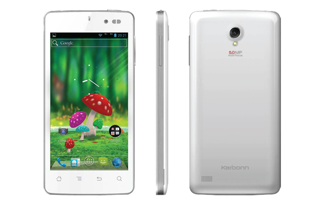 Karbonn S1 Titanium smartphone with 1.2GHz quad-core CPU, Android 4.1 launched for Rs. 10,990