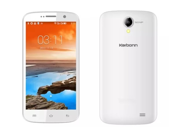 Karbonn A25+ With 5-inch Display Now Available Online at Rs. 5,799