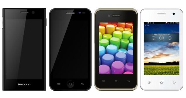 Karbonn Launches 4 Budget Smartphones, Including 2 KitKat-Based