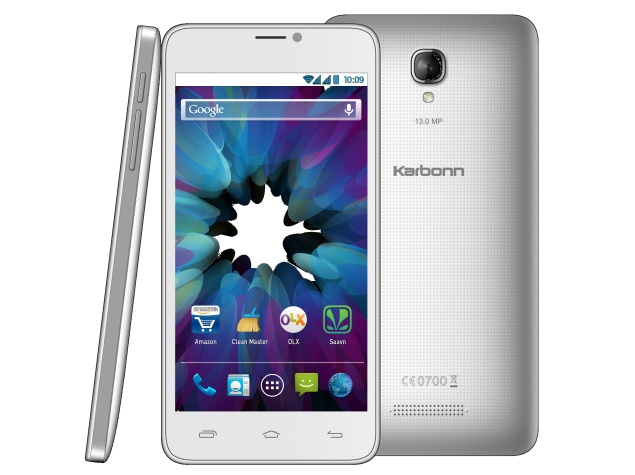 Karbonn Titanium S19 'Selfie Smartphone' Launched at Rs. 8,999
