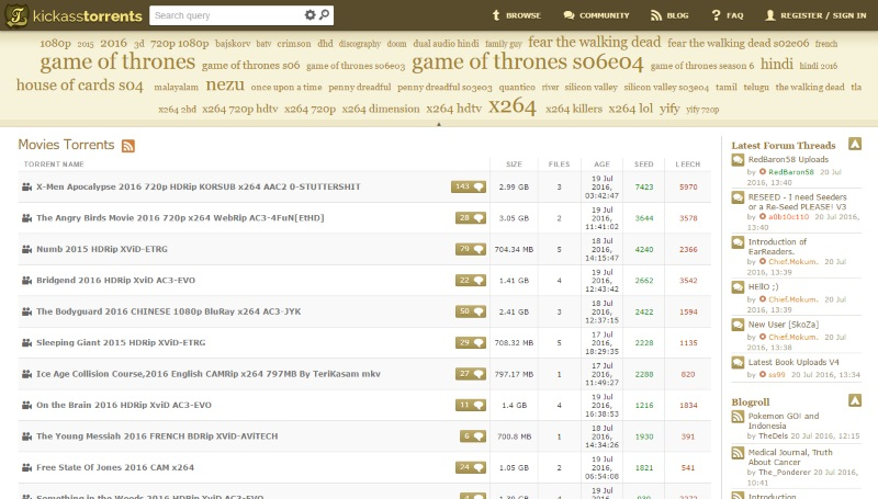 Kickass Torrents Online Again, in the Form of Clone Sites