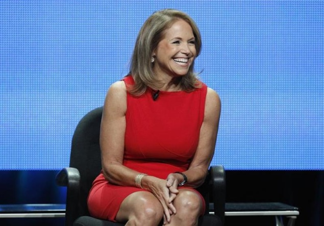 Yahoo pushes further into news, hires Katie Couric as global anchor