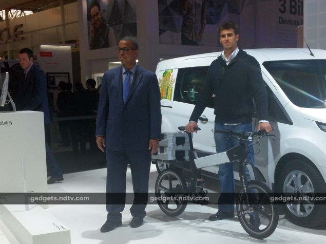 Ford's New Focus Electric and MoDe Electric Cycles Launched at MWC 2015