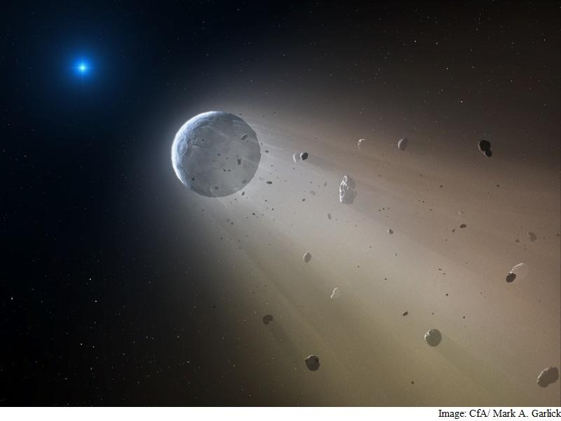 Nasa's K2 Discovers Dead Star Vaporising a Mini 'Planet'
