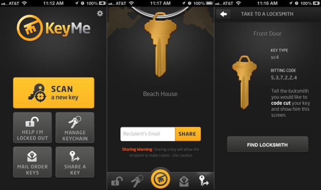 Apps bring lock and key into the digital age
