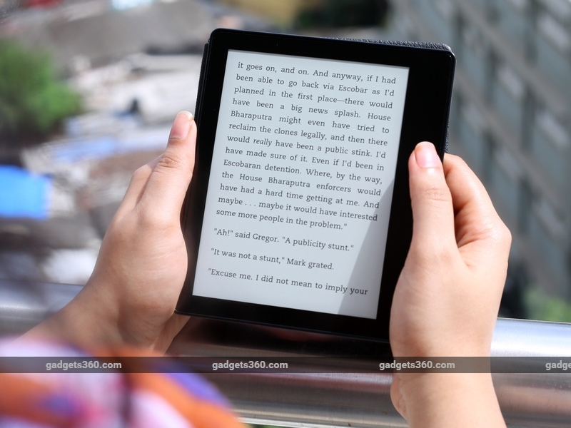 Amazon Kindle Oasis Review | NDTV Gadgets360 com